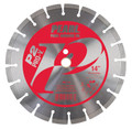 "Pearl 14"" x .125 x 1"", 20mm  P2 PRO-V Segmented Diamond Blade"