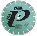 "Pearl 10"" x .080 x 1"" - 5/8""  P4 Segmented Diamond Blade"