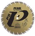 """Pearl 14"""" x .125 x 1"""", 20mm  P5 Hard Materials Diamond Blade"""