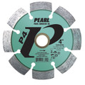 "Pearl 4"" x .250 x 7/8"" - 5/8 P4 PRO-V Tuck Point Diamond Blade"