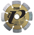 "Pearl 4"" x .250 x 7/8"" - 5/8 P5 PRO-V Tuck Point Diamond Blade"