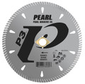 "Pearl 5"" x .090 x 7/8"", 20mm, 5/8"", 4-holes P3 Diamond Blade - Granite"
