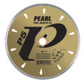 "Pearl 4 1/2"" x .080 x 20mm, 4 Holes - P5 Diamond Blade - Granite"