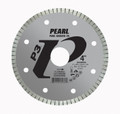 "Pearl 4"" x .060 x 20mm, 5/8"" Adapter P3 Diamond Blade - Tile & Marble"