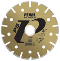 "Pearl 4 1/2"" x 7/8 - 5/8"" Adapter P5  Electroplated Diamond Blade - Marble"