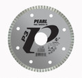 "Pearl 4 1/2"" x .060 x 7/8 - 5/8"" Adapter P3 Diamond Blade - Tile & Marble"