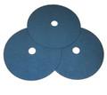 """Pearl 9"""" x 7/8"""" 80Grit Zirconia Premium Resin Fiber Disc (25 Pack)"""