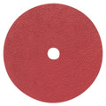 "Pearl 4-1/2"" x 7/8"" 50Grit Redline Ceramic Resin Fiber Disc (25 Pack)"