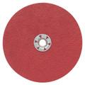 """Pearl 4-1/2"""" x 5/8""""-11 60Grit Redline CBT Resin Fiber Disc (25 Pack)"""