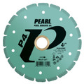 "Pearl 4 1/2"" x .080 x 7/8"", 5/8"" P4 Multi-Cut Diamond Saw Blade"