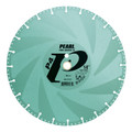 "Pearl 14""  x .125 x 1"", 20mm P4 Multi-Cut Diamond Saw Blade"