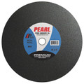 "Pearl 14"" x 1/8"" x 1"" Premium A36S Chop Saw Wheels - Metal (Pack of 10)"