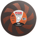 "Pearl 16"" x 3/16"" x 1"" SRT36 Chop Saw Wheels - Stainless(Pack of 10)"