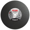 "Pearl 14"" x 1/8"" x 1"" Chop Saw Wheels - Masonry (Pack of 10)"