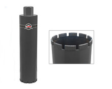 "MK-BLACK TURBO  MK Diamond Core Bit 4"" x 1 ¼""-7"