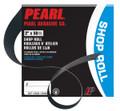 """1-1/2"""" x 50yd. Pearl Shop Roll A100 Grit"""