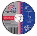 "Continental Cut-Off Wheel 4-1/2"" x 1/16"" x 7/8""  Metal Cutting (Pack of 25)"
