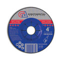 "Grinding Wheel 4"" x 1/4"" x 5/8""  T-27 Grinding Wheel (Pack of 25)"