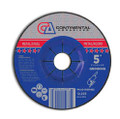 "Grinding Wheel 5"" x 1/4"" x 7/8""  T-27 Grinding Wheel (Pack of 25)"