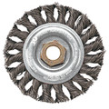 "Pearl Wire Brush - Knot Wheel Regular Twist - 6"" x .020"" x 5/8-11 Pipeliner"