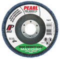 "Pearl EXV HIGH DENSITY 4-1/2"" x 7/8"" Zirconia T27 Flap Disc - 36 GRIT (Pack of 10)"
