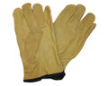 Drivers Gloves Pigskin Leather - Tan
