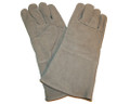 Professional Gray Welders Gloves - One Size