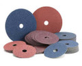 "4"" x 5/8"" Aluminum Oxide Resin Fibre Discs 100 Grit (Pack of 25)"