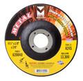"""Mercer 4 1/2"""" x 1/8"""" x 7/8"""" Grinding Wheel TYPE 27 - Metal (Pack of 25)"""