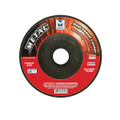 "Mercer 4 1/2"" x ¼"" x 7/8"" Grinding Wheel TYPE 27 - Metal (Pack of 25)"