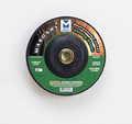 "Mercer 4"" x 1/4"" x 5/8"" Grinding Wheel TYPE 27 - Masonry (Pack of 25)"