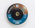 """Mercer 7"""" x 1/4"""" x 5/8""""-11 Grinding Wheel TYPE 27 - Zirconia (Pack of 10)"""