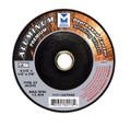 """Mercer 4 1/2"""" x ¼"""" x 7/8"""" Grinding Wheel TYPE 27 - Aluminum (Pack of 25)"""