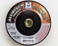 "Mercer 4 1/2 x 1/4"" x 5/8""-11 Grinding Wheel TYPE 27 - Aluminum (Pack of 20)"