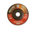 """Mercer 4 1/2"""" x 1/8"""" x 7/8"""" Grinding Wheel 46 Grit TYPE 27 - Metal (Pack of 25)"""
