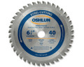 "Metal Cutting Saw Blades 6-3/4"" x 20mm x 40T"