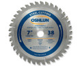 "Metal Cutting Saw Blades 7"" x 20mm x 38T"