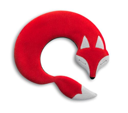 Red Noah Fox Unscented Heatable Neck Warmer Pillow