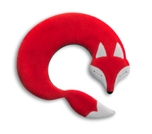 Red Noah Fox Unscented Heatable Neck Warmer Pillow