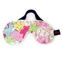 Mauvey Pink Floral Liberty Print Cotton Padded Eye Mask