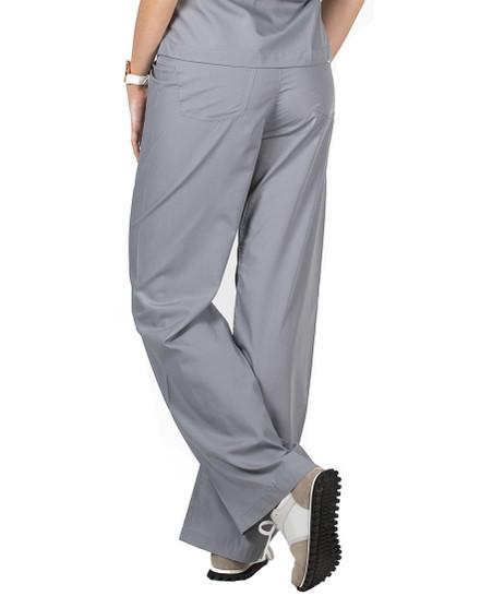 2XL Slate Grey Classic Simple Scrub Pant