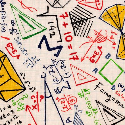 Geometry Class Poppy Scrub Caps