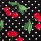 Black Cherry Poppy Surgical Head Caps - Image Variant_0