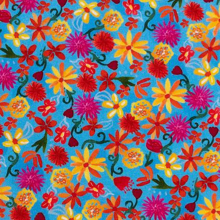 Hello Sunshine Poppy Scrub Caps