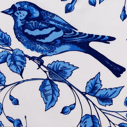 Blue Bird Poppy Scrub Caps
