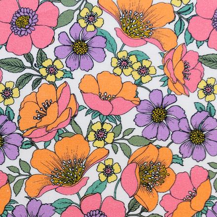 Primrose Paradise Poppy Surgical Caps