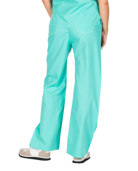 XS Petite Carnegie Green -  Classic Shelby Scrub Pants