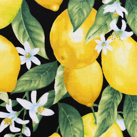 Fresh Lemons Pixie Surgical Head Caps