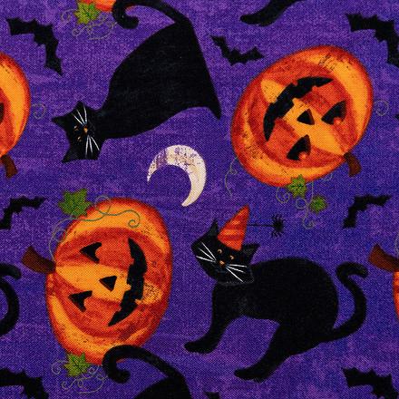 Pumpkin Party Pony Scrub Caps