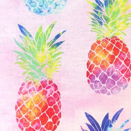 Pineapple Twist Pony Surgical Head Caps
